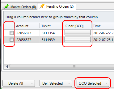 Forex brokers with oco orders