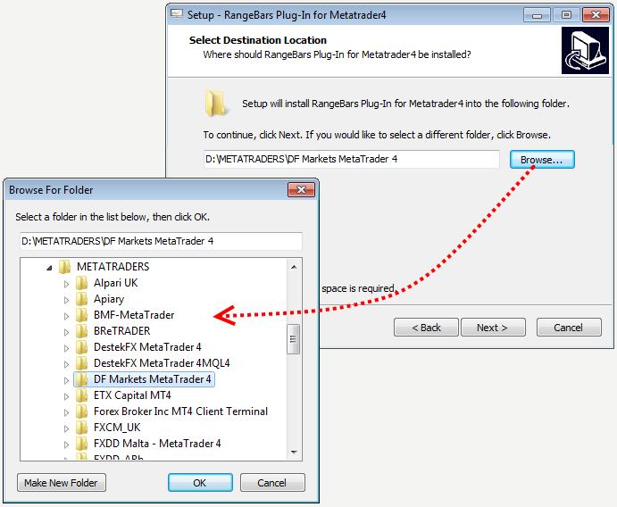 choosing-the-installation-folder-of-mt4